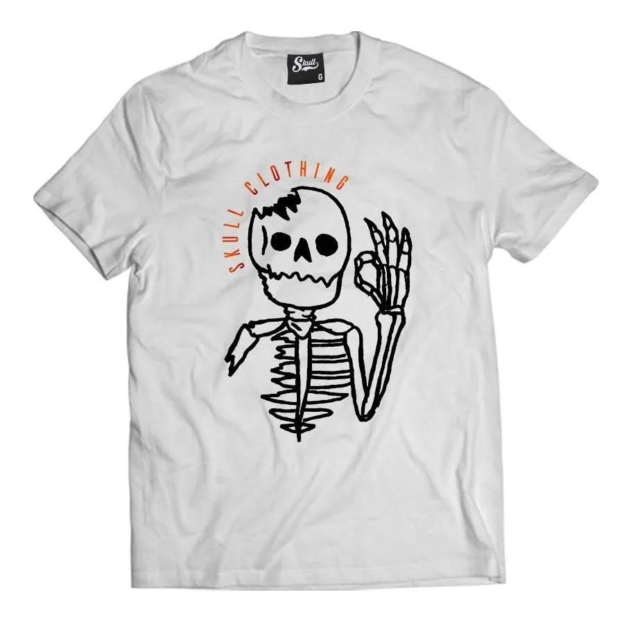 Camiseta Okay Skull