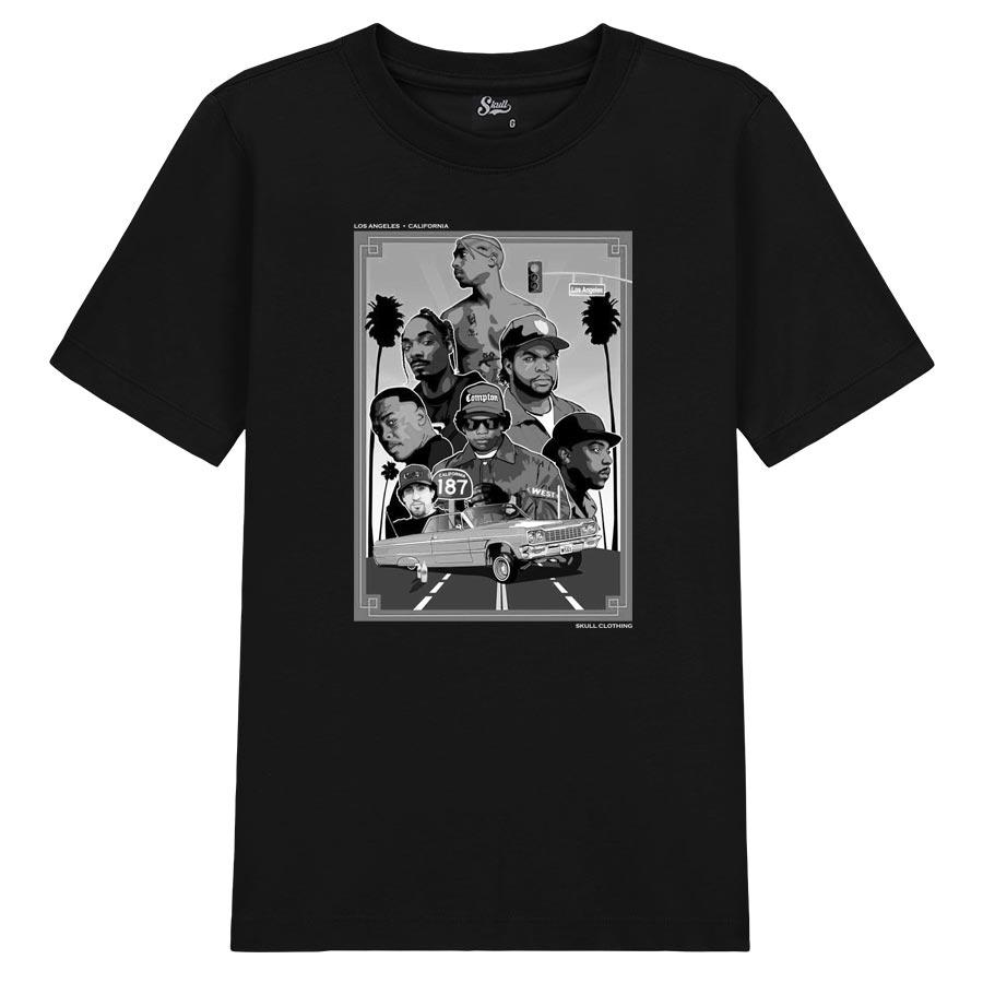 Camiseta Rappers California