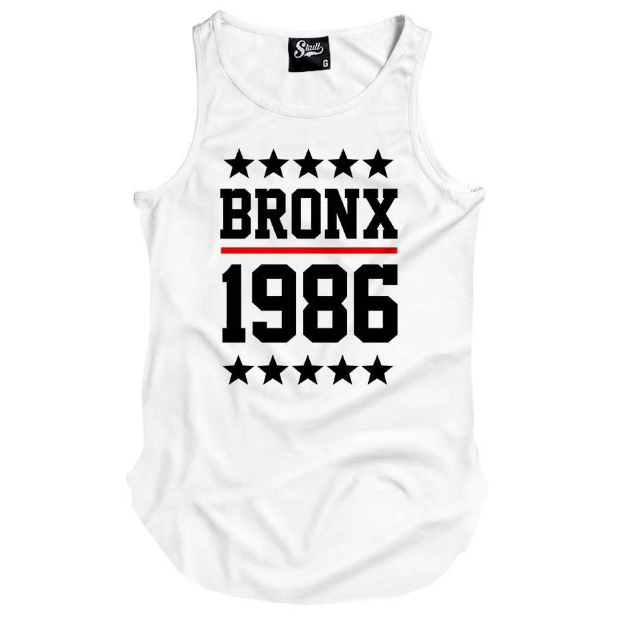 Camiseta Regata Longline Bronx 1986