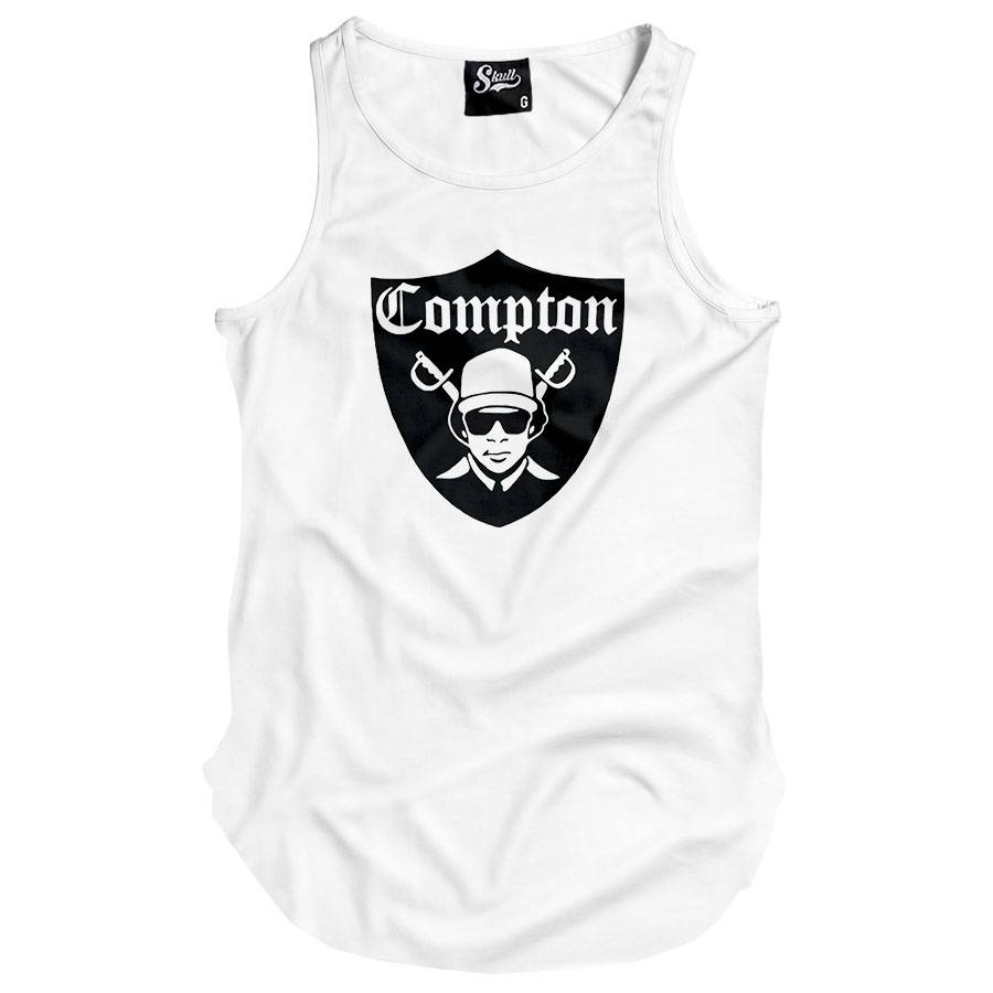 Camiseta Regata Longline Compton Eazy-e