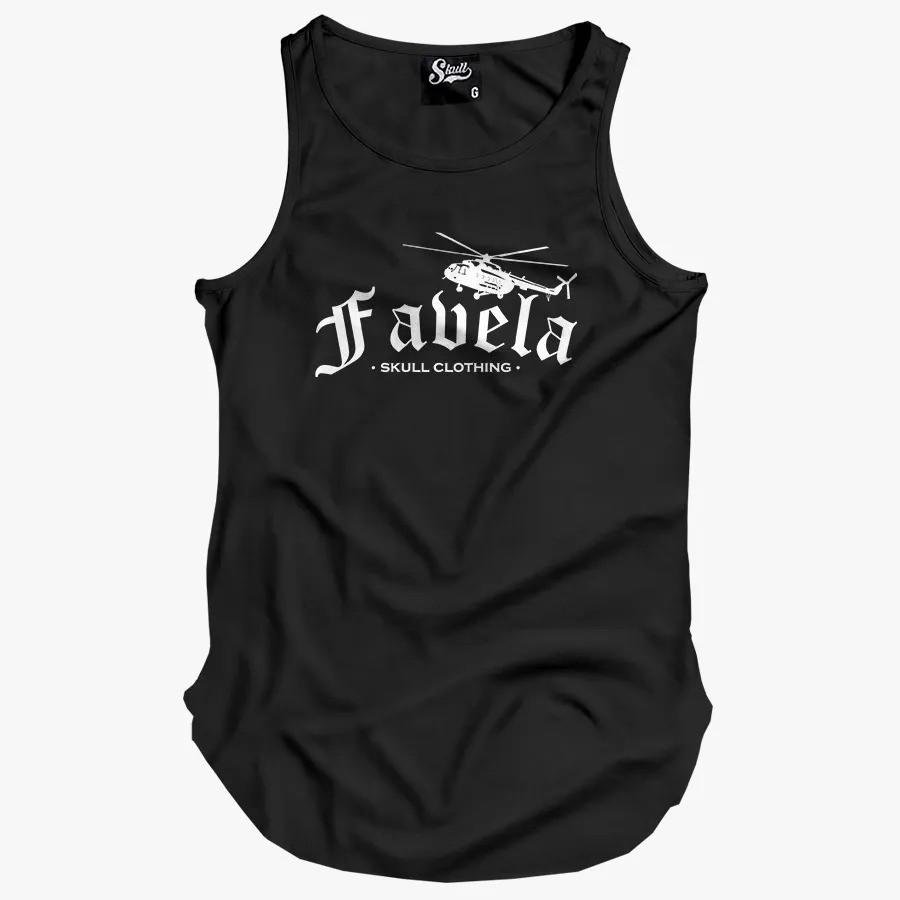 Camiseta Regata Longline Favela