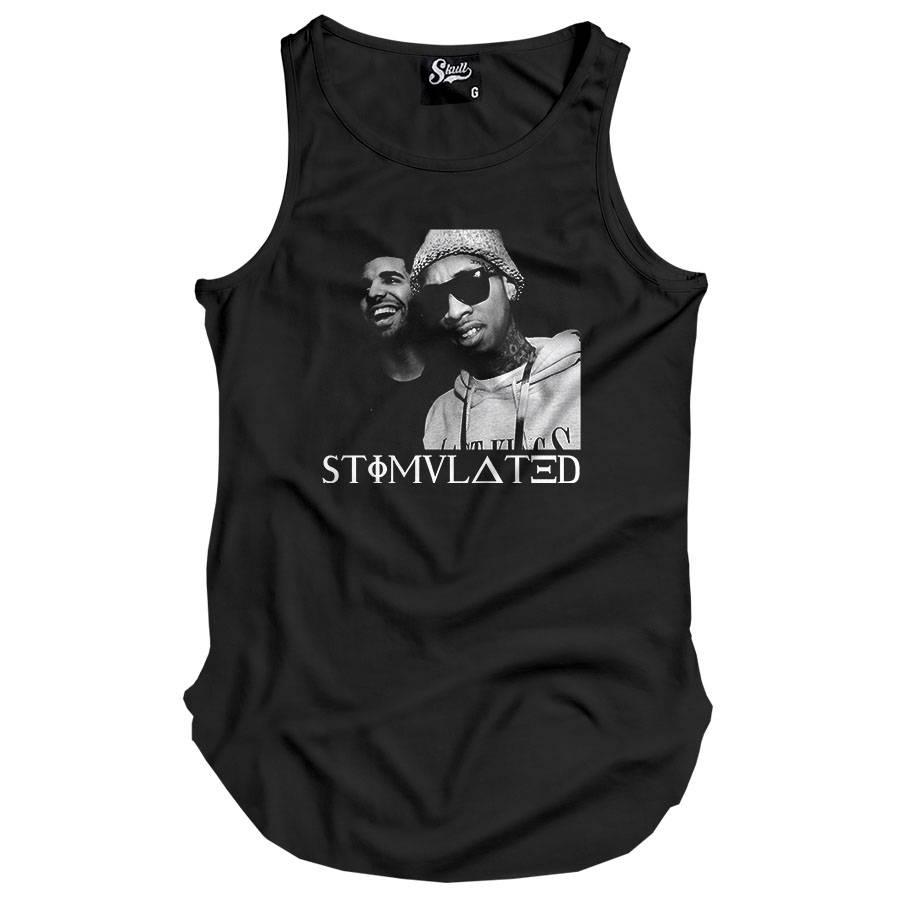 Camiseta Regata Longline Stimulated Rappers