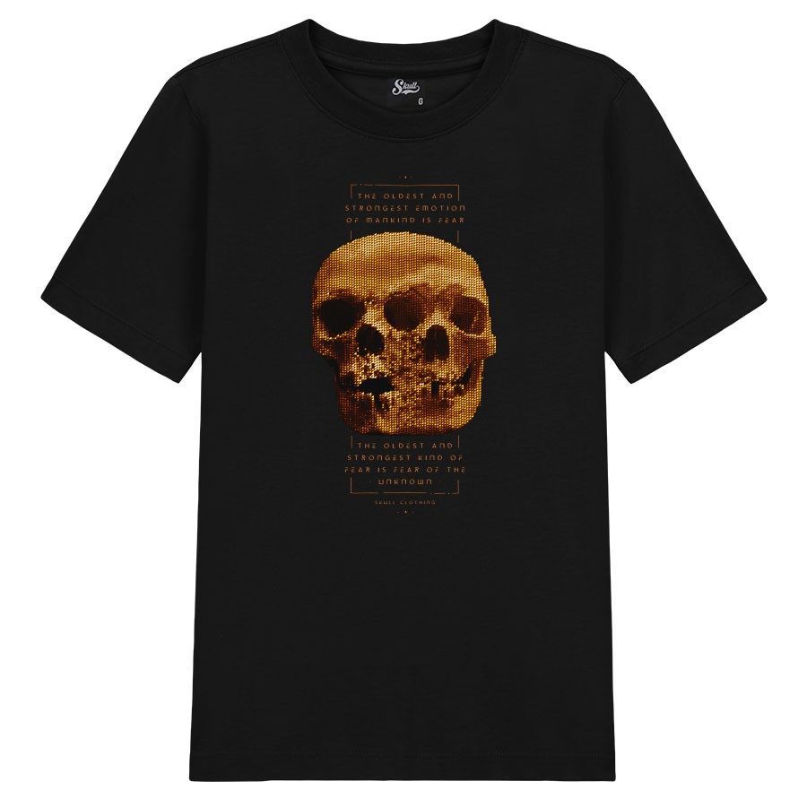 Camiseta Triclops Gold Skull