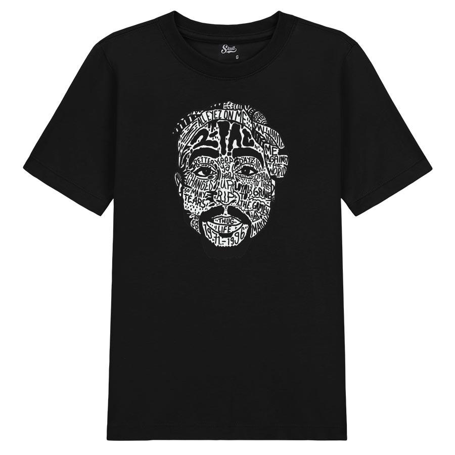 Camiseta Tupac Tattoo