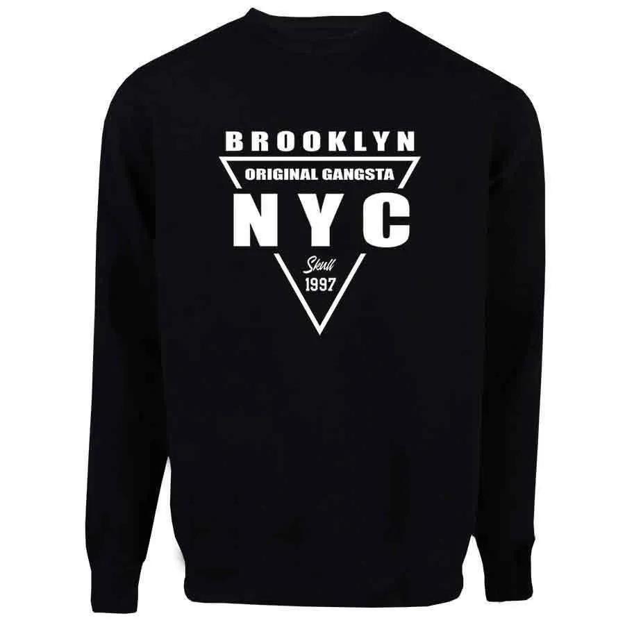 Casaco Moletom Brooklyn NYC