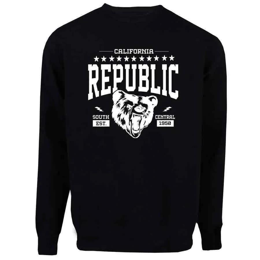 Casaco Moletom Cali Republic