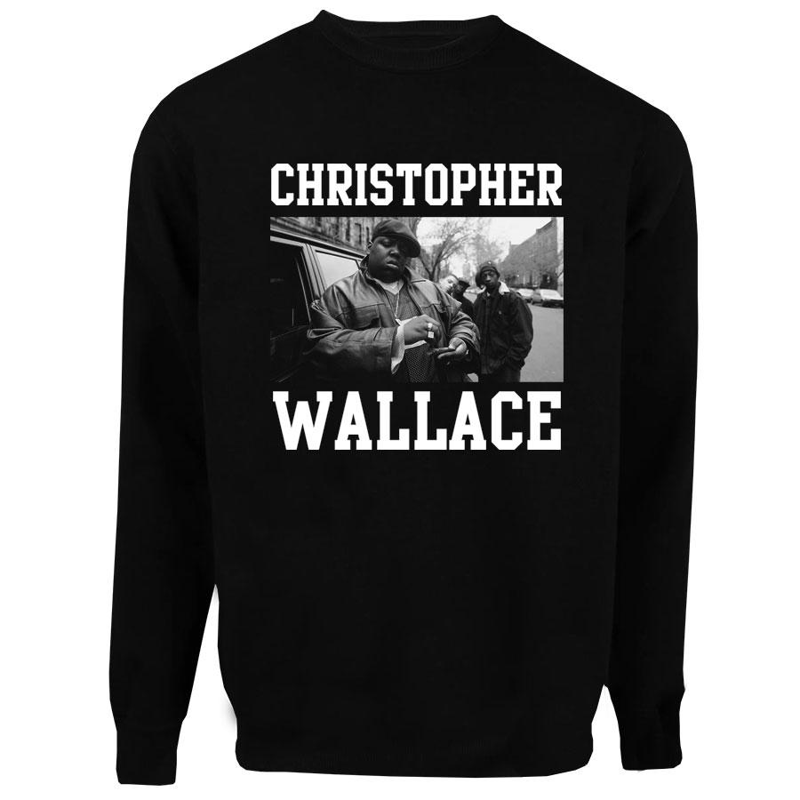 Casaco Moletom Christopher Wallace