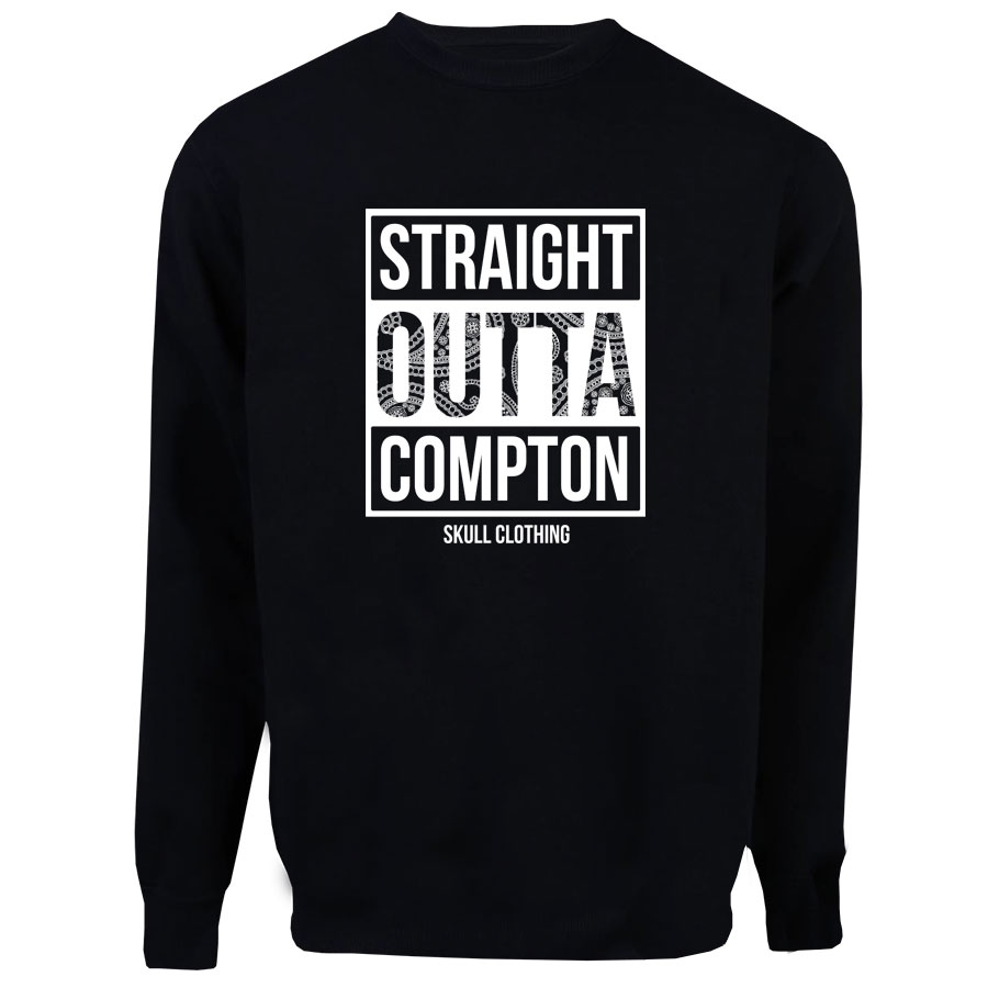 Casaco Moletom Straight Outta Compton