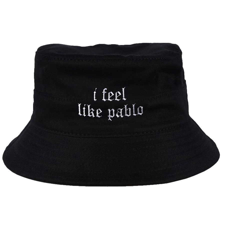 Chapéu Bucket I Feel Like Pablo Preto