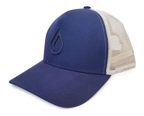 Boné Trucker Water Azul