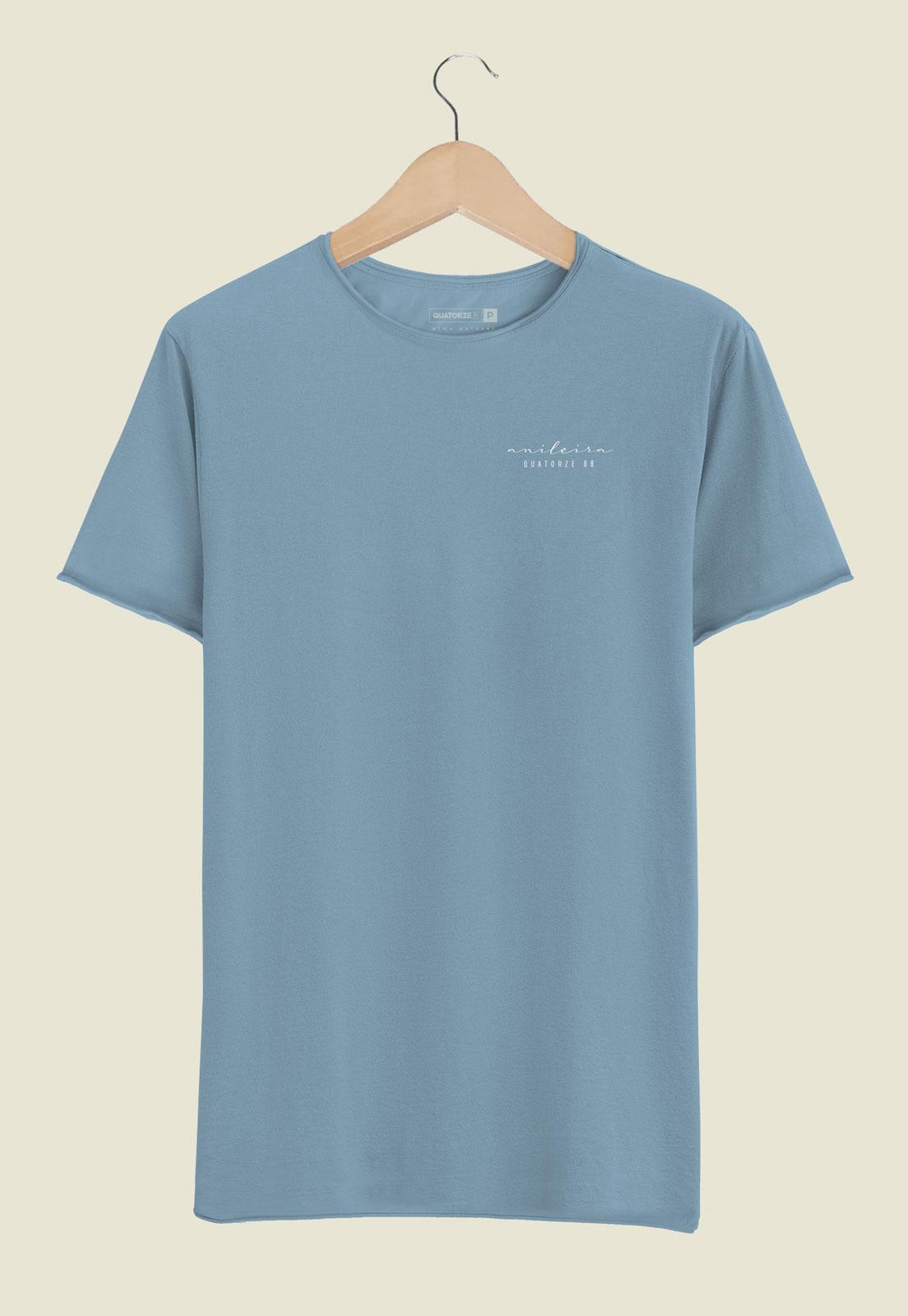 Camiseta Anileira Tingimento Natural