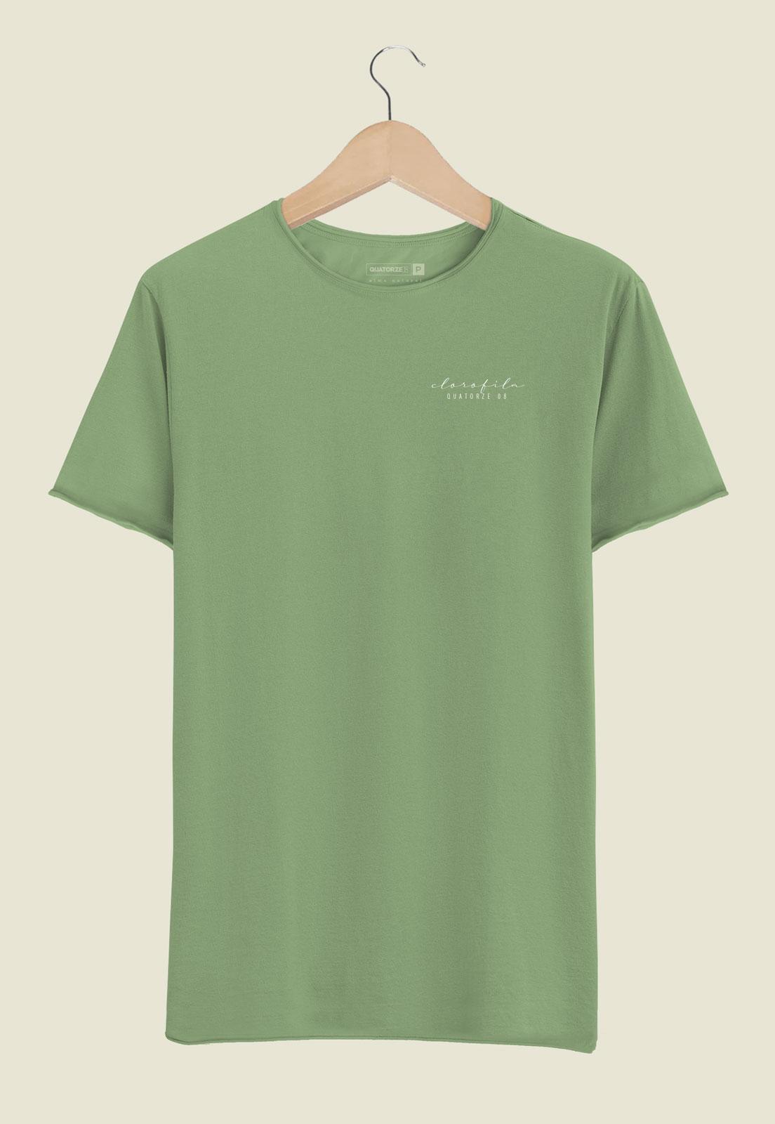 Camiseta Clorofila Tingimento Natural