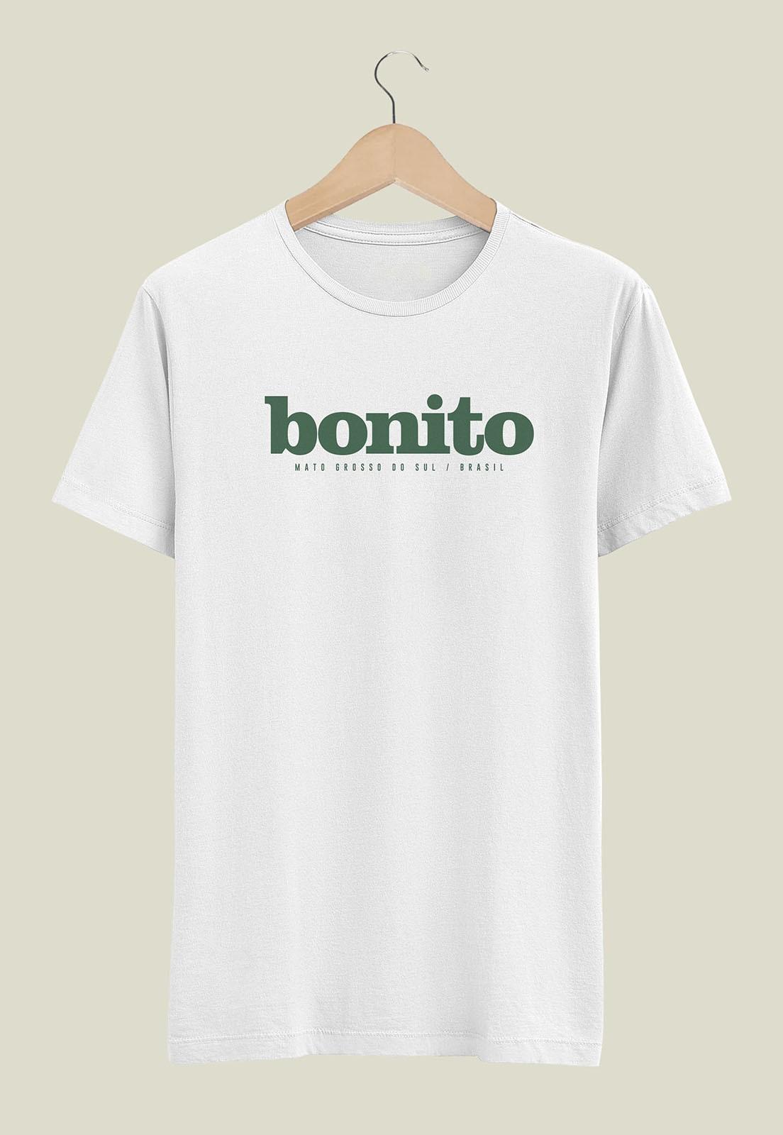 Camiseta Destinos Bonito Branco