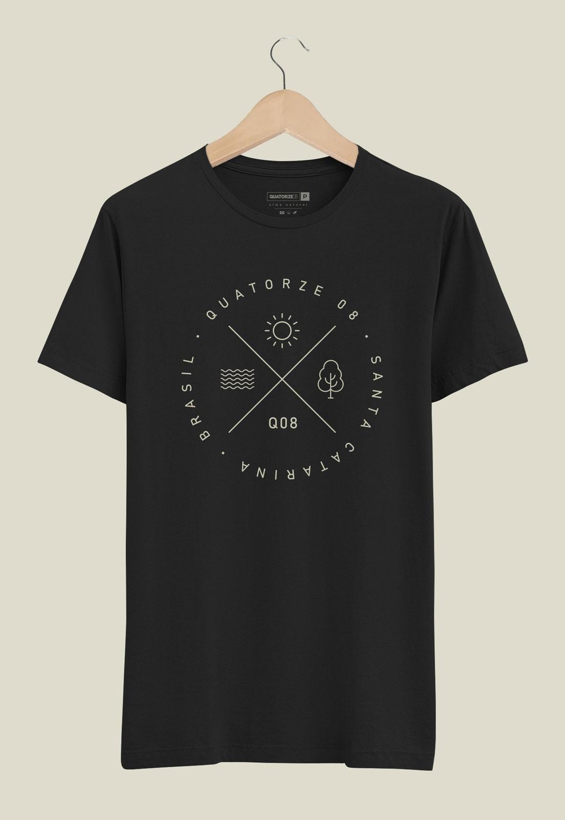 Camiseta Elementos Preta
