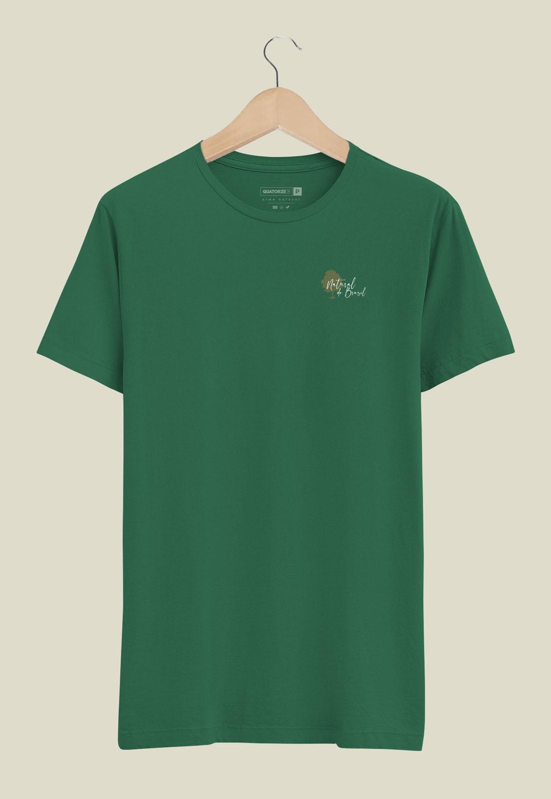 Camiseta Natural do Brasil Verde Escuro