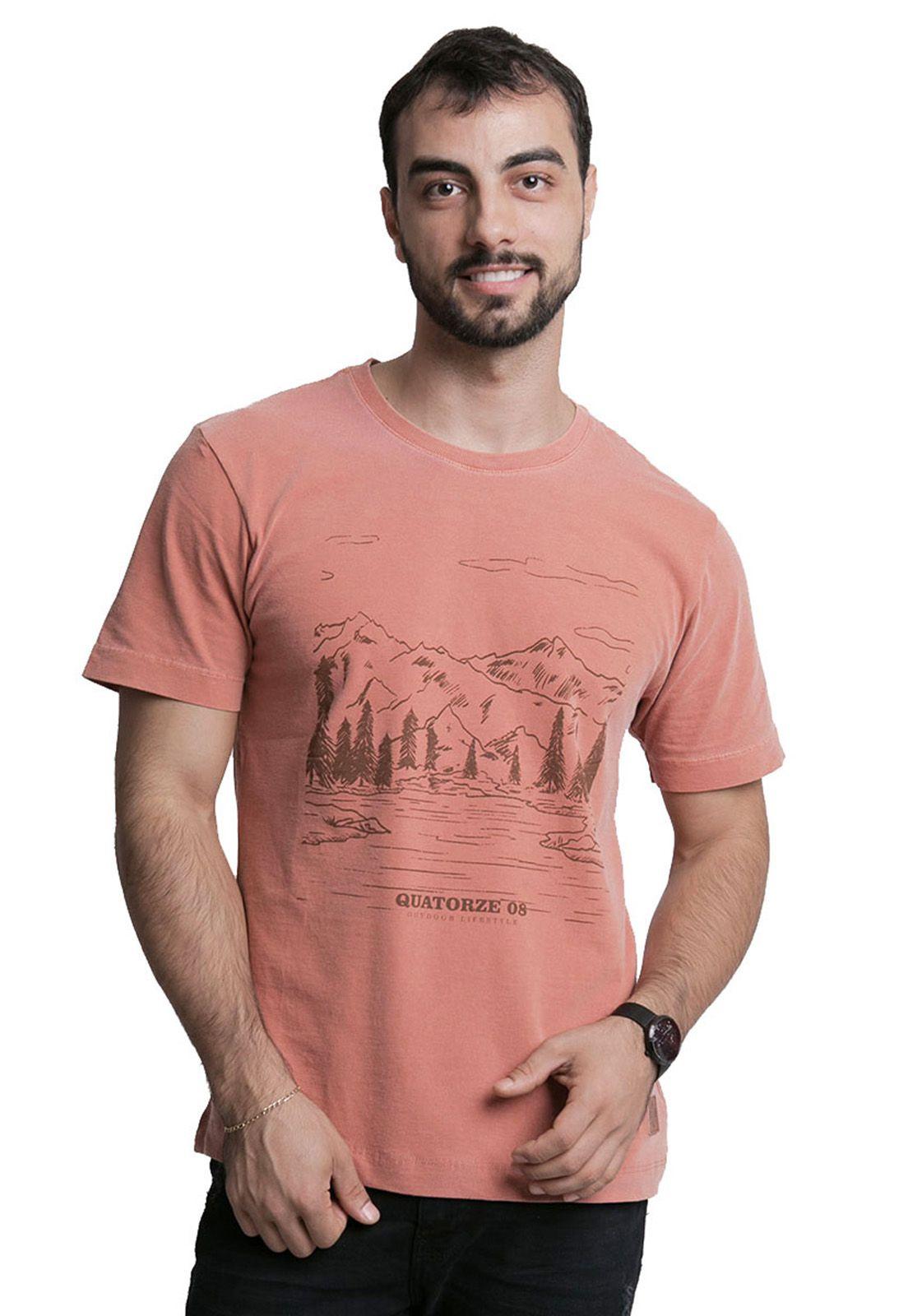 Camiseta Outdoor Lifestyle Terra