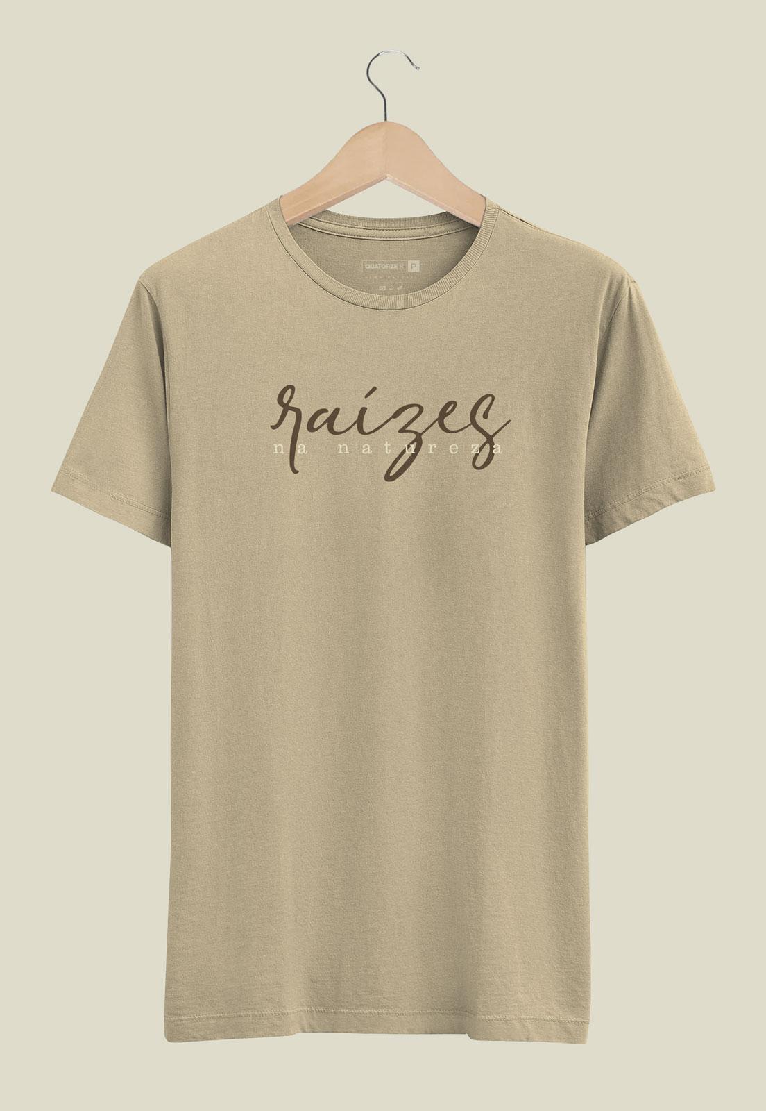 Camiseta Raízes Areia