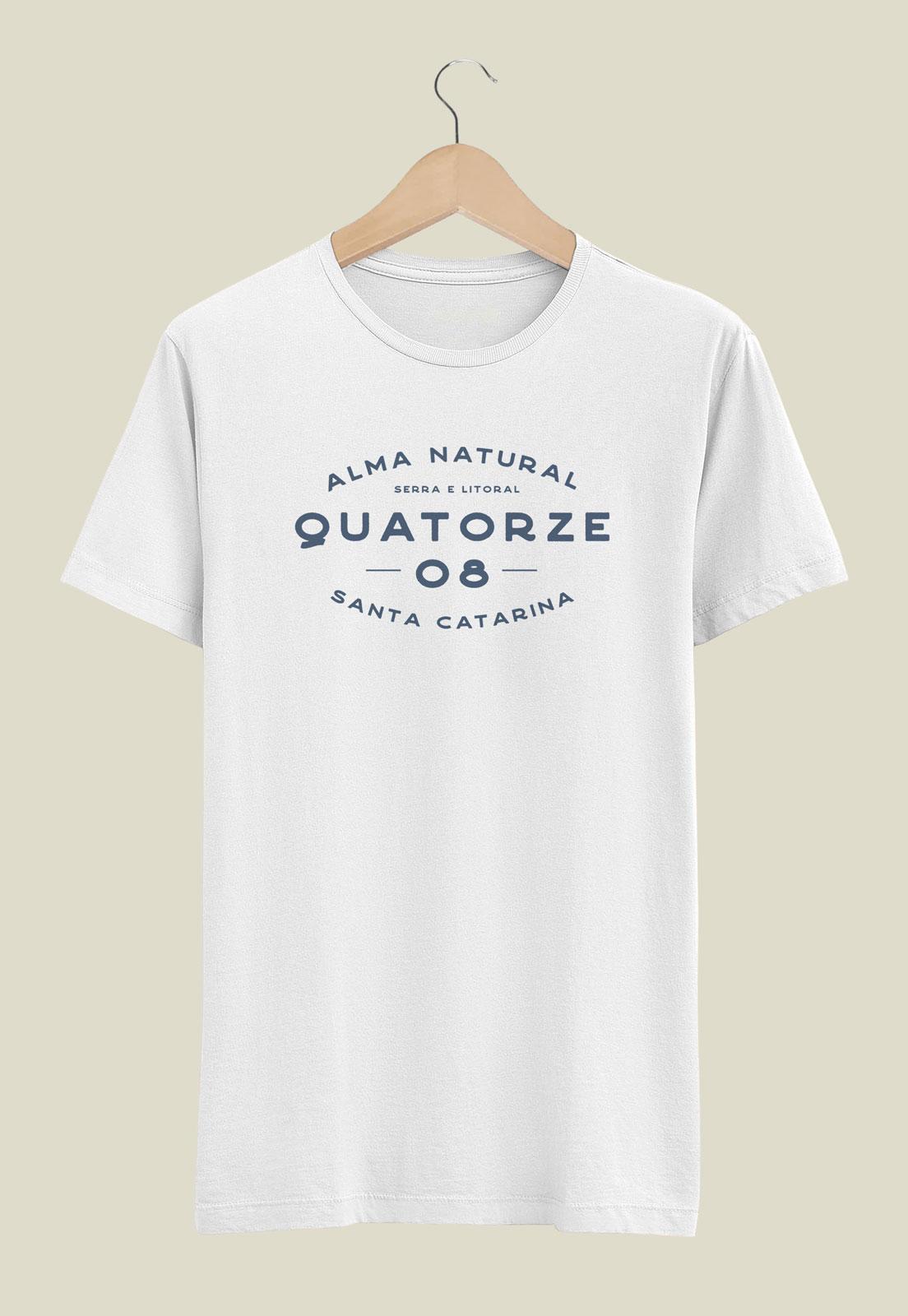 Camiseta Serra e Litoral Branca
