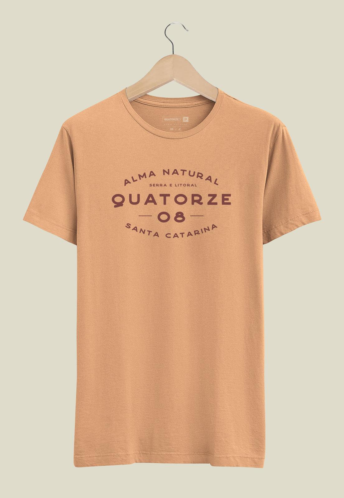 Camiseta Serra e Litoral Laranja