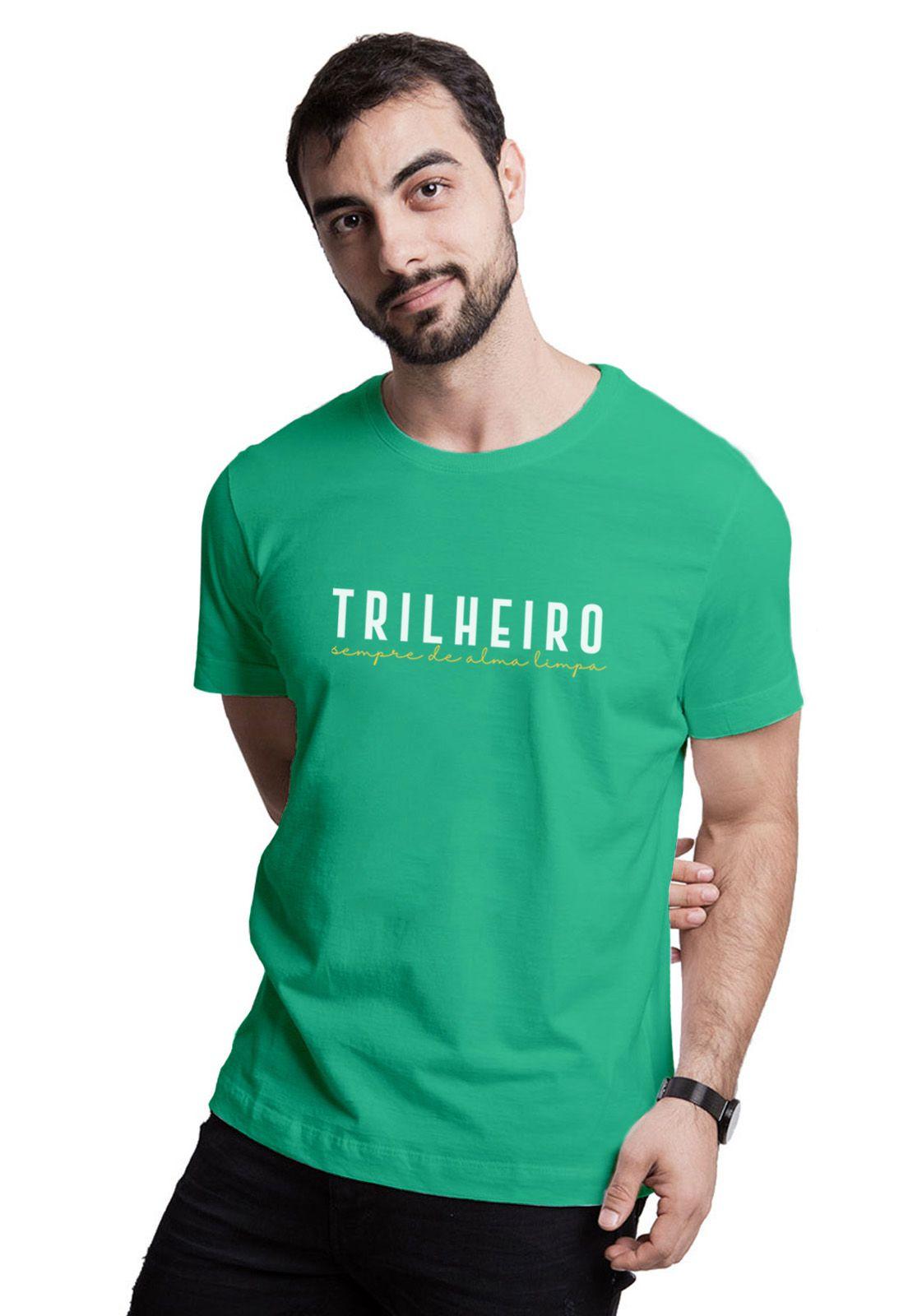 Camiseta Trilheiro Verde