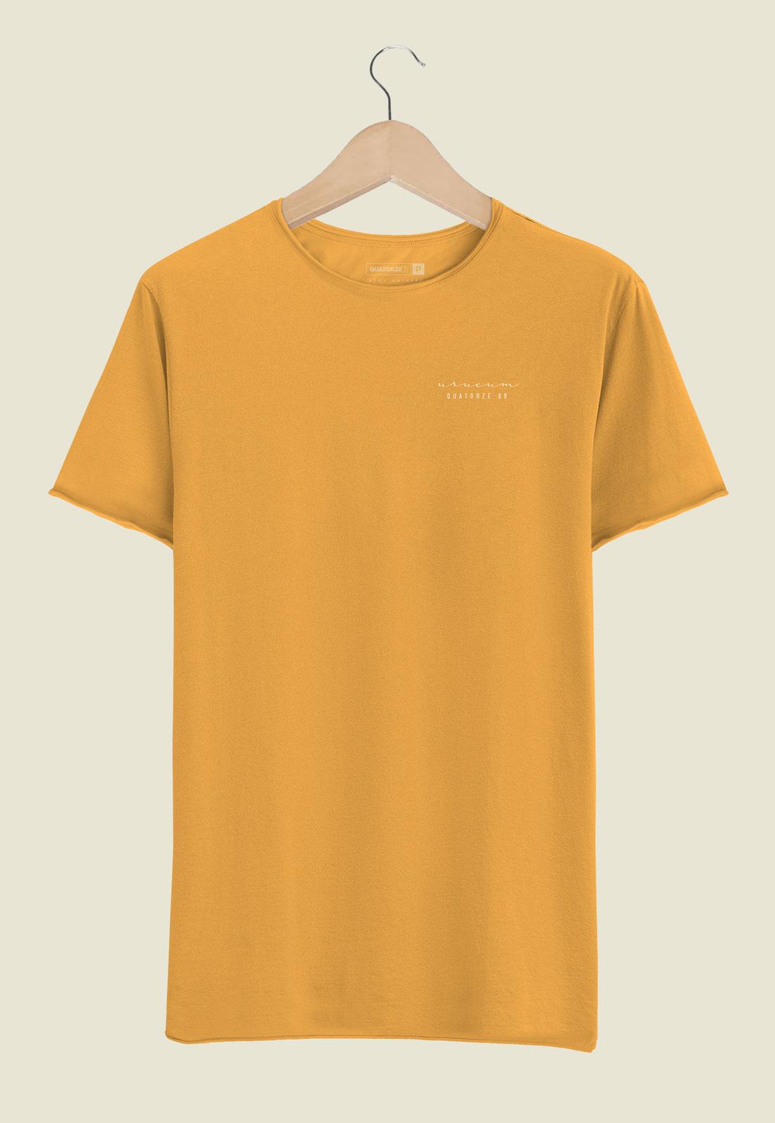 Camiseta Urucum Tingimento Natural