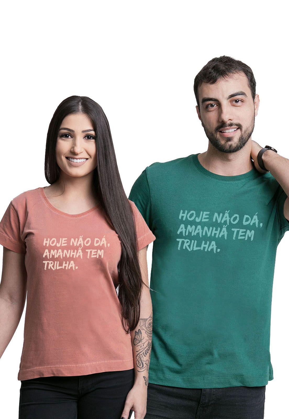 Kit Camisetas Amanhã tem Trilha 2