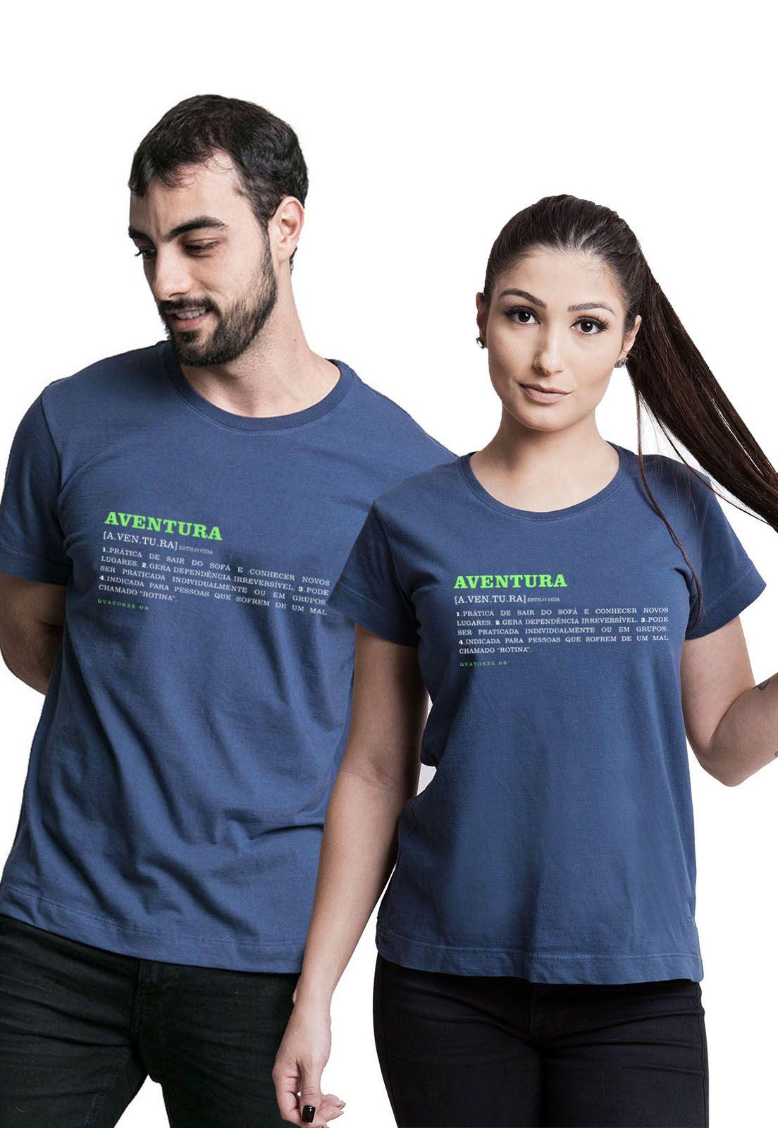 Kit Camisetas Aventura Dicionário