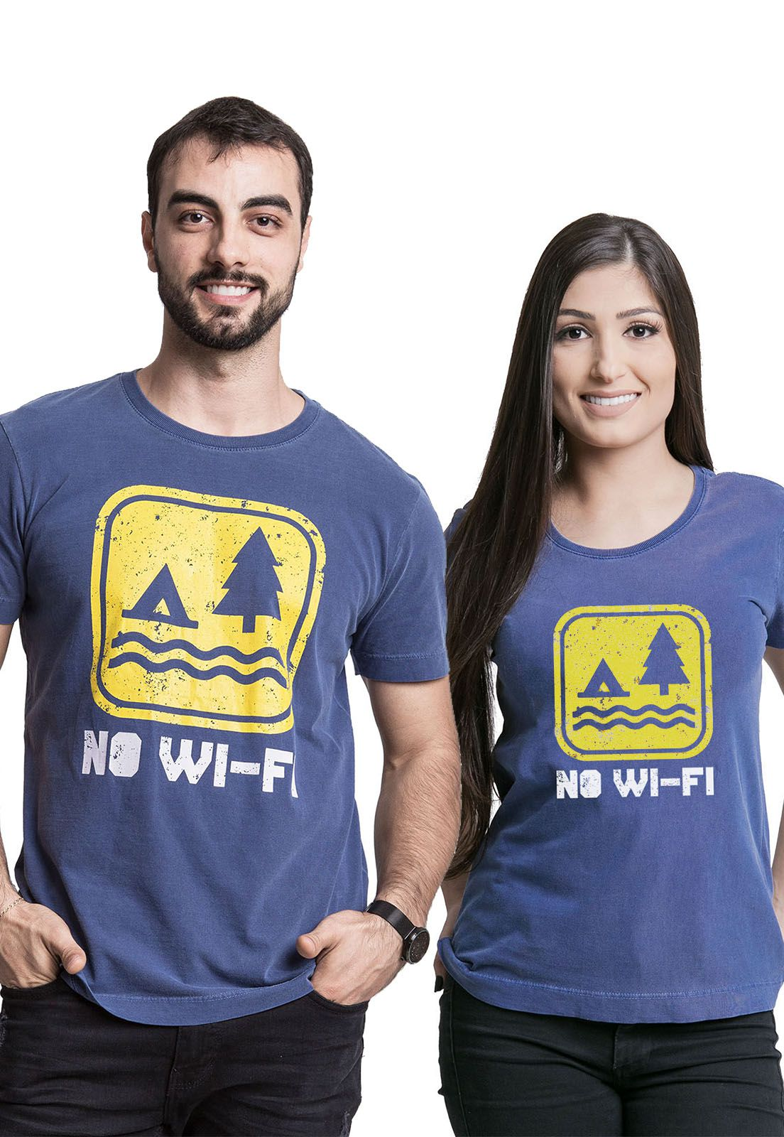 Kit Camisetas No Wi-fi