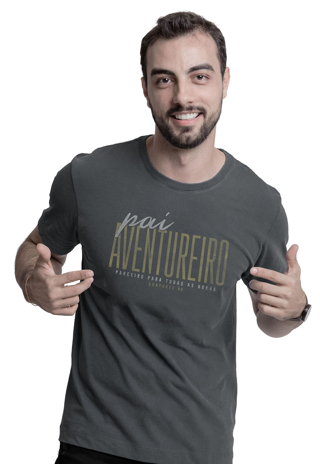 Kit Pai Aventureiro Chumbo Estonado
