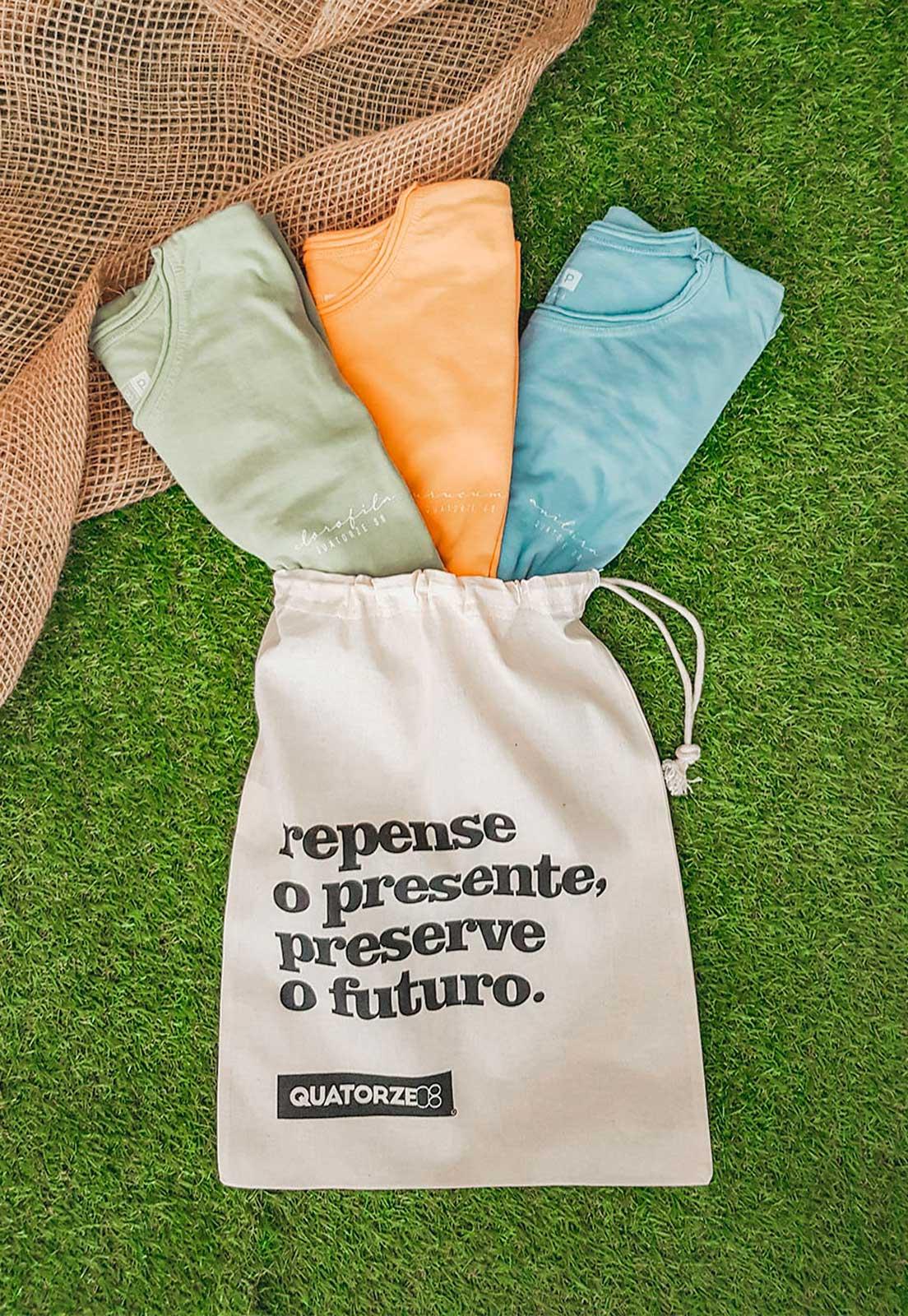 Kit Tingimento Natural Masculino + Ecobag