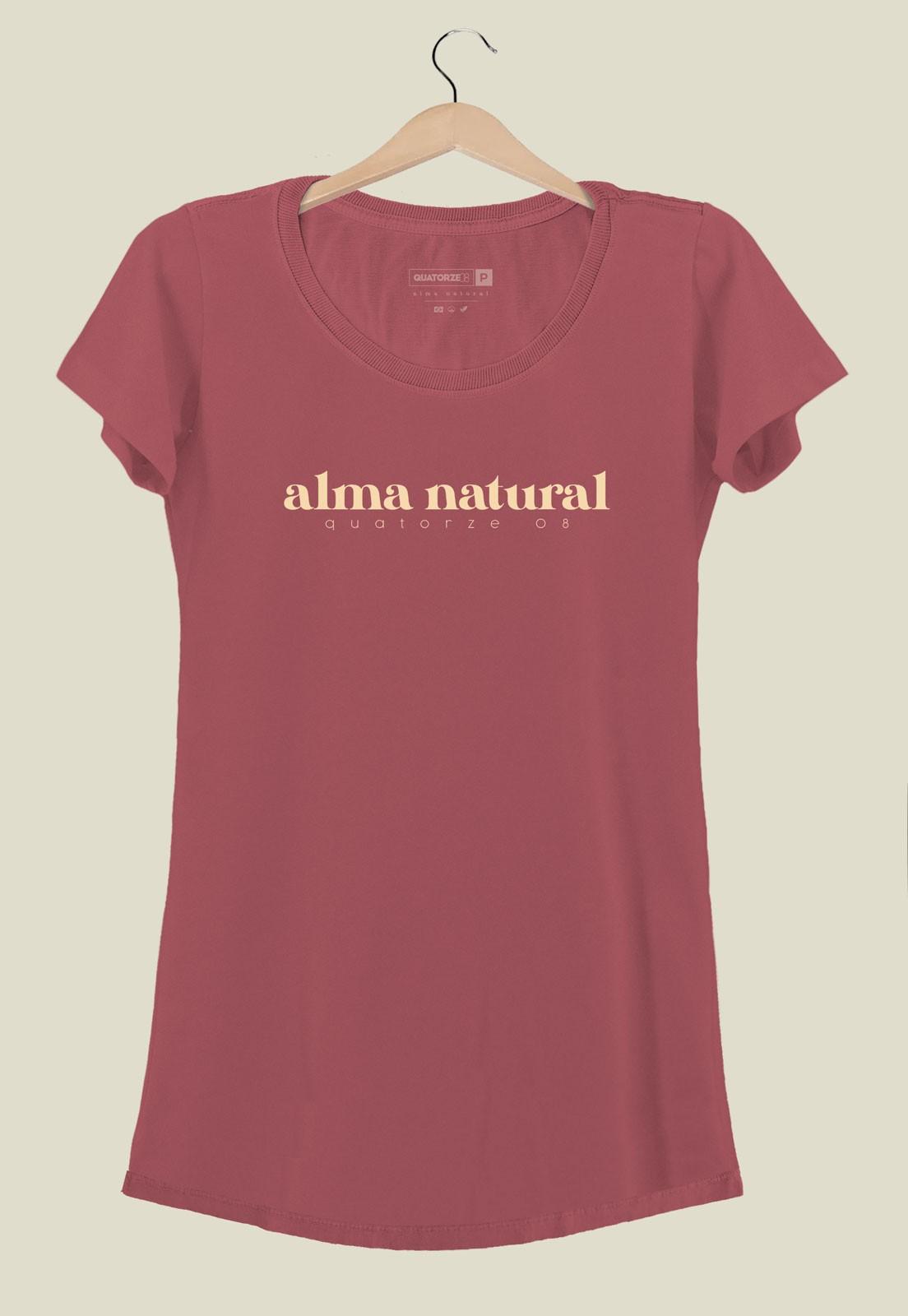 Vestido Alma Natural Bordô Estonado