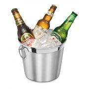 Balde de Gelo 4,5 litros com Argola - Alumínio ABC