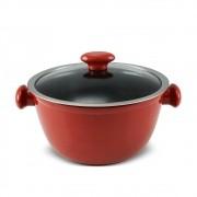 Caçarola 24 cm - 3,5 litros - Vermelha - Linha Chef - Ceraflame