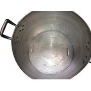 Caldeirão Cervejeiro 118 litros - 55 cm - com Registro e Fundo Falso - Alumínio ABC