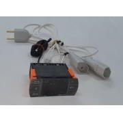 Controlador de Temperatura COM LIGAÇÃO - 2 Estágios - EK-1000 - Elitech