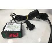 Controlador de Temperatura Termostato MT512E 2HP - Com Ligação 220v - Full Gauge