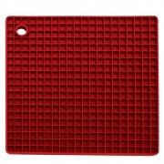 Descanso Panela Silicone Quadrado 17,5 cm - Yangzi