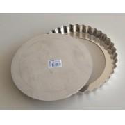 Forma de Quiche/Torta de Maçã 21 cm com Fundo Removível - Doupan