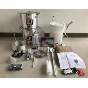 Kit Completo para Produção de 20L de Cerveja Artesanal (com insumos) - 220v