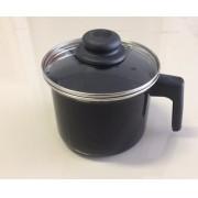 Leiteira Esmaltada 2 litros - com Tampa - Arasul