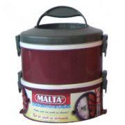 Marmita Térmica com Presilhas 2 Andares  - Malta
