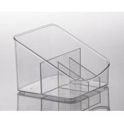 Organizador Diamond 18 x 17 x 13 cm - com Divisórias - Paramount
