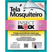 Tela Mosquiteiro 1,25 x 1,25 cm - Insect Block