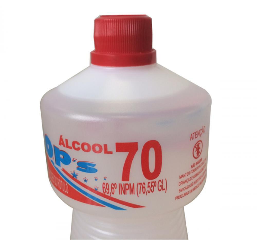 Álcool 70% para Sanitização (1 litro)  - Lojão de Ofertas