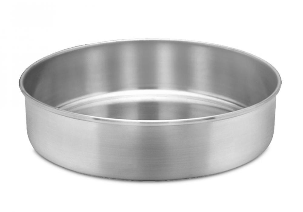 Assadeira Redonda 24 cm - Alumínio ABC  - Lojão de Ofertas
