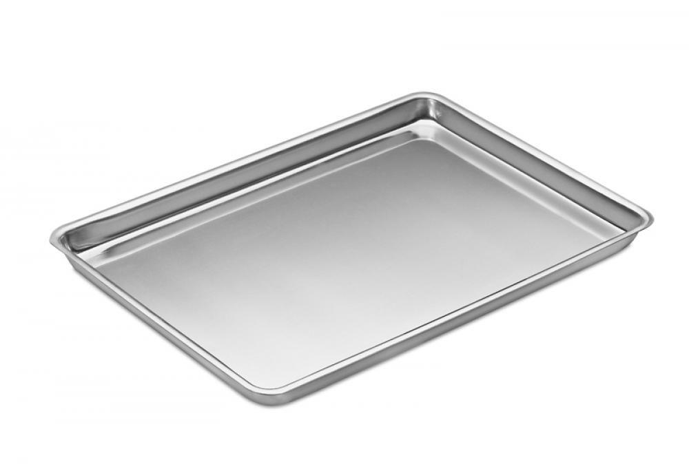 Assadeira Retangular de Padaria 63 x 43 x 4 cm - Alumínio ABC  - Lojão de Ofertas
