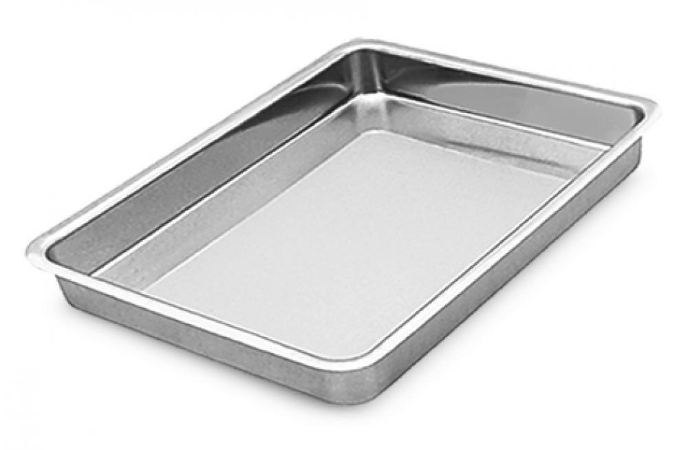 Assadeira Retangular nº 1 - 27 x 18 x 5 cm - Alumínio ABC  - Lojão de Ofertas