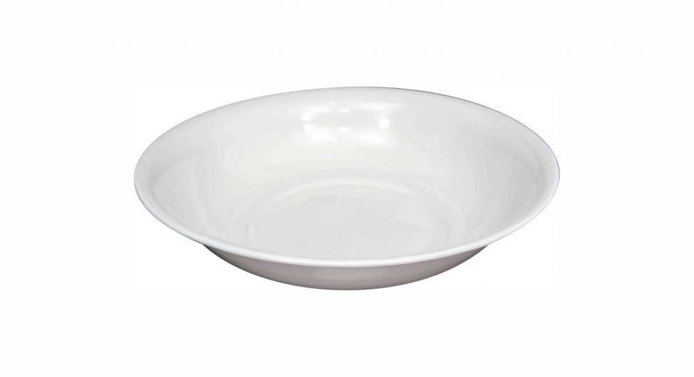Bacia Branca Esmaltada 30 cm - 2 litros - Esmaltados Silva  - Lojão de Ofertas