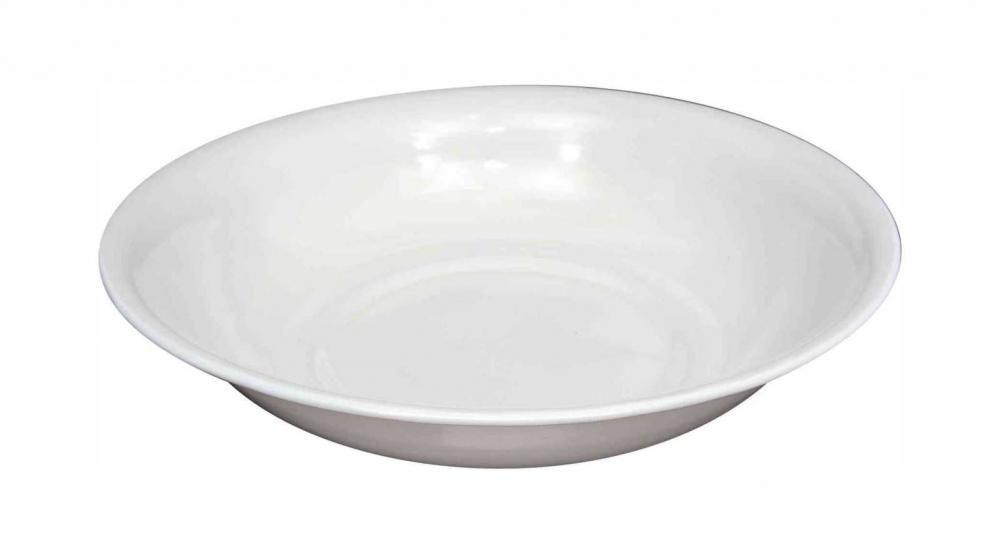 Bacia Branca Esmaltada 40 cm - 5 litros - Esmaltados Silva  - Lojão de Ofertas