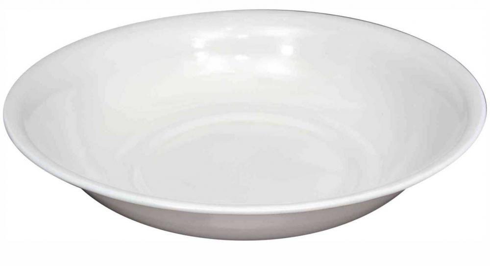 Bacia Branca Esmaltada 50 cm - 12 litros - Esmaltados Silva  - Lojão de Ofertas